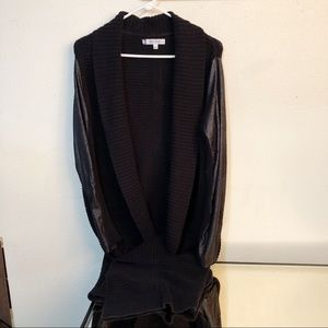 Jennifer Lopez Cardigan Sz M Black